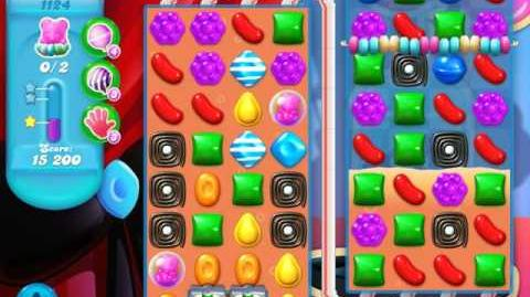 Candy Crush Soda Saga Level 1124 (2nd buffed, 3 Stars)