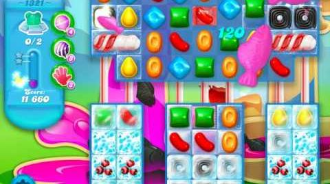 Candy Crush Soda Saga Level 1321 (4th version, 3 Stars)