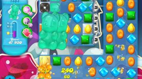 Candy Crush Soda Saga Level 1404 (2nd nerfed)