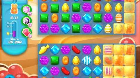 Candy Crush Soda Saga Level 96 (6th version, 3 Stars)