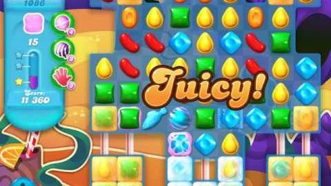 Candy Crush Soda Saga Level 1086 (3rd version, 3 Stars)