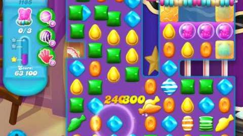 Candy Crush Soda Saga Level 1185 (buffed)