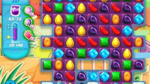 Candy Crush Soda Saga Level 837 (6th version, 3 Stars)