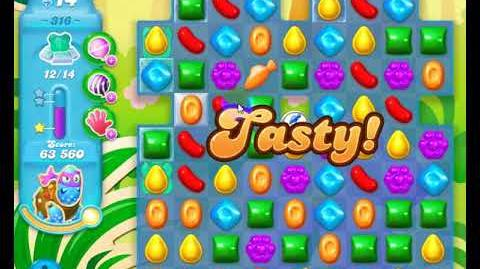 Candy Crush Friends Group SODA Level 316 3Stars Update 291017