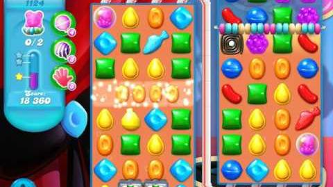 Candy Crush Soda Saga Level 1124 (6th version, 3 Stars)