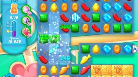 Candy Crush Soda Saga Level 1147 (3 Stars)