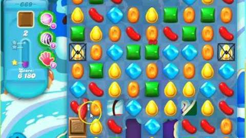 Candy Crush Soda Saga Level 669 by the Blogging Witches