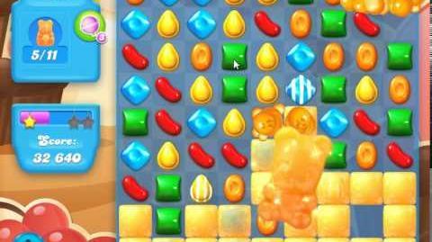 Candy Crush Soda Saga Level 102 (nerfed, 3 Stars)