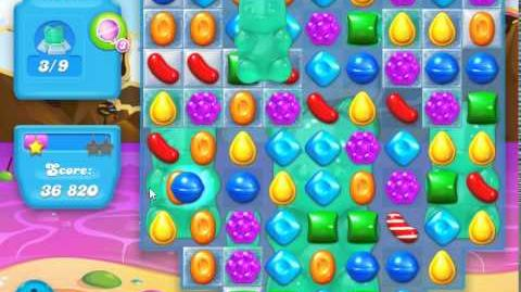 Candy Crush Soda Saga Level 18 (2nd nerfed) (9 bears)