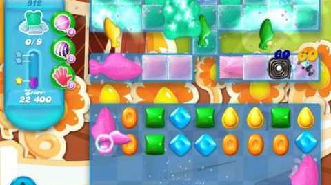 Candy Crush Soda Saga Level 912 (4th version)