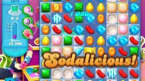 Candy Crush Soda Saga Level 1075 (buffed, 3 Stars)
