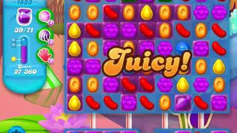 Candy Crush Soda Saga Level 1833 (buffed, 3 Stars)