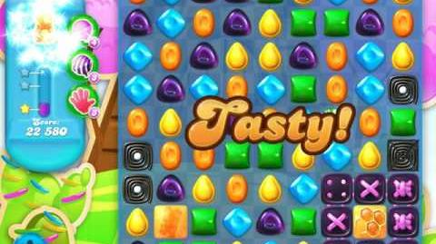 Candy Crush Soda Saga Level 486 (4th version)