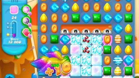 Candy Crush Soda Saga Level 1518 (3 Stars)