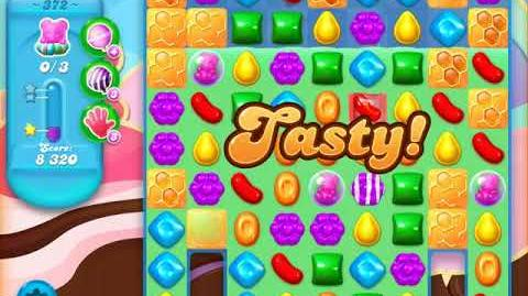 Candy Crush Soda Saga Level 372 (buffed, 3 Stars)