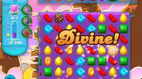 Candy Crush Soda Saga Level 72 (5th version, 3 Stars)