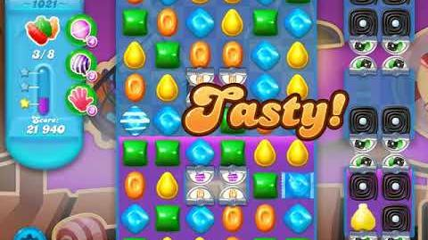 Candy Crush Soda Saga Level 1021 (6th version)
