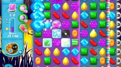 Candy Crush Soda Saga Level 469 (buffed, 3 Stars)