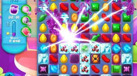 Candy Crush Soda Saga Level 1246 (buffed)