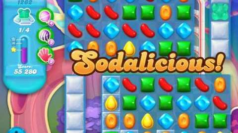 Candy Crush Soda Saga Level 1262 (7th version, 3 Stars)