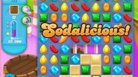 Candy Crush Soda Saga Level 135 (6th version, 3 Stars)