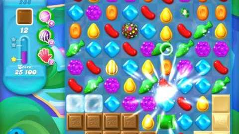 Candy Crush Soda Saga Level 238 (6th version, 3 Stars)