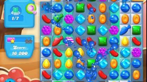 Candy Crush Soda Saga Level 105 (2nd nerfed, 3 Stars)