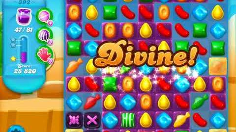 Candy Crush Soda Saga Level 392 (2nd buffed, 3 Stars)