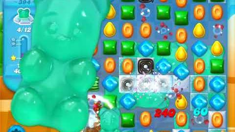 Candy Crush Soda Saga Level 394 (4th version, 3 Stars)