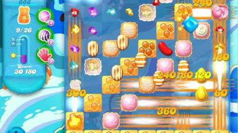Candy Crush Soda Saga Level 666 (buffed)