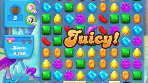 Candy Crush Soda Saga Level 144 (2nd nerfed, 3 Stars)