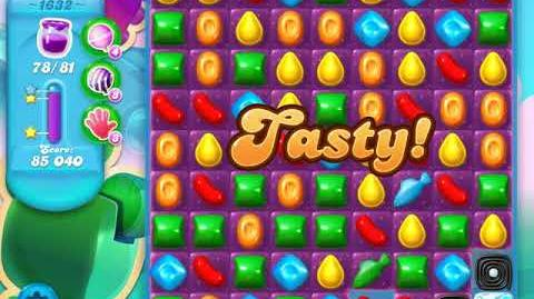 Candy Crush Soda Saga Level 1632 (buffed, 3 Stars)