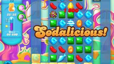 Candy Crush Soda Saga Level 90 (2nd nerfed)