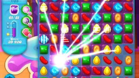 Candy Crush Soda Saga Level 1109 (4th version, 3 Stars)