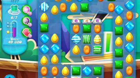 Candy Crush Soda Saga Level 1227 (nerfed, 3 Stars)