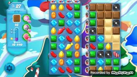 Candy Crush Soda Saga Level 676 (3 Stars)