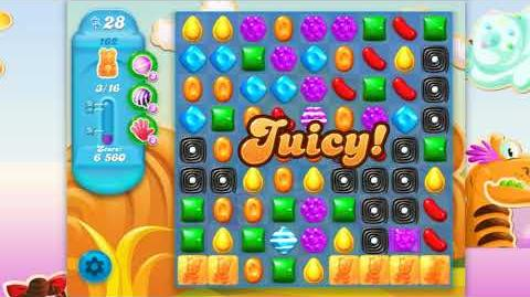 Candy Crush Soda Saga - Level 162 - No boosters