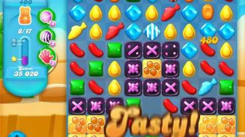 Candy Crush Soda Saga Level 400 (2nd buffed)