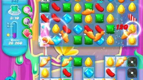 Candy Crush Soda Saga Level 942 (7th version, 3 Stars)