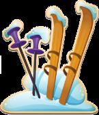 SkiingstickFrozen