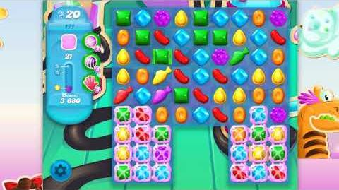 Candy Crush Soda Saga - Level 171 - No boosters