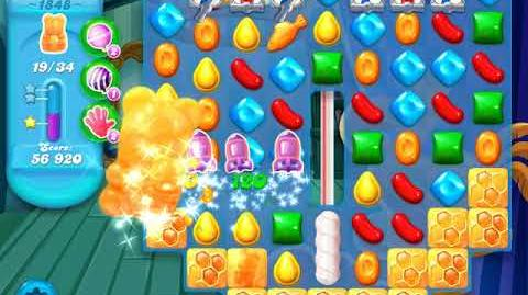 Candy Crush Soda Saga Level 1848