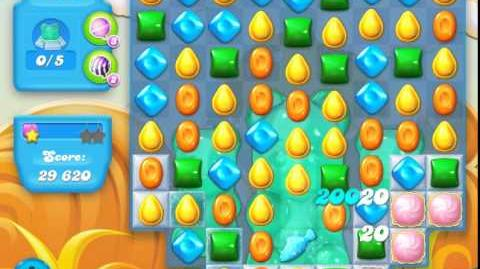 Candy Crush Soda Saga Level 153 (4th version, 3 Stars)