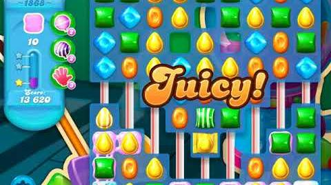 Candy Crush Soda Saga Level 1868 (3 Stars)