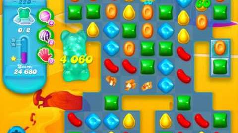 Candy Crush Soda Saga Level 220 (5th version)