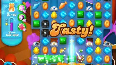 Candy Crush Soda Saga Level 1180 (4th version, 3 Stars)