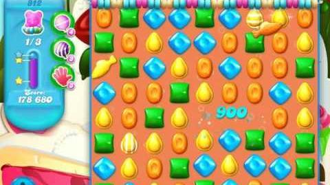 Candy Crush Soda Saga Level 812 (buffed, 3 Stars)