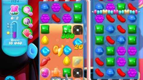 Candy Crush Soda Saga Level 1124 (5th version)