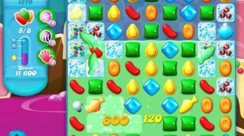 Candy Crush Soda Saga Level 1279 (nerfed, 3 Stars)