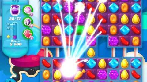Candy Crush Soda Saga Level 279 (2nd version, 3 Stars)